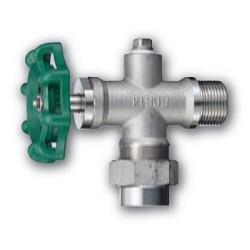 Stainless Steel Screw-In Gauge Valve