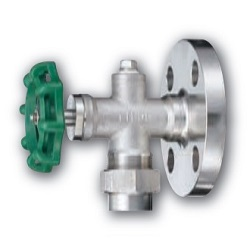 Flange Type Stainless Steel Gauge Valve