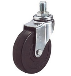 Screw-In Caster, Freely Rotating
