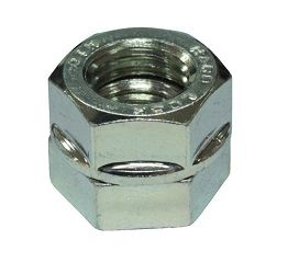 "Hex Nut ""Hard Lock Nut"" (with Rim/Trivalent Chromate)"