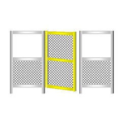 TECKAR G40 Type Safety Fence Standard Door
