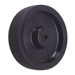Wheel for Dedicated Caster E Series, Small Light Duty Urethane Wheel, L-UB (GOLD CASTER)