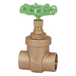 125E Type, Lead-Free Bronze Solder Type Gate Valve