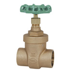 125 E Type - Bronze Soldered Type Gate Valve