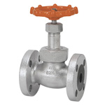 20K Type Ductile Cast-Iron Flanged Globe Valve <Union Bonnet Type>
