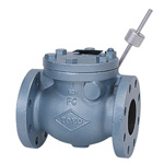 JIS 10K Type - Cast Iron F Type Swing Check Valve, Counterweight Type