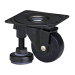 Function Type - 100AF Truck Type - Synthetic Rubber Wheels with Adjuster Foot (Packing Caster)