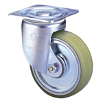 Heavy Class 100HB-PA Truck Type PA Polyurethane Wheel (Packing Caster) with Roller Bearings for Heavy Loads