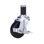Standard Class 200s Caster Model Synthetic Rubber Wheel with Stopper (Packing Caster)