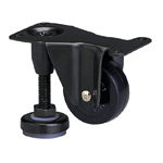 Functional Type, 600AF, Fixed Type, Adjuster Foot Included, Synthetic Rubber Wheel (Packing Caster)