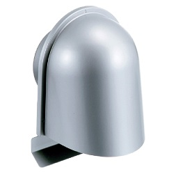 Louver With UL-Type Hood For Automatic Ventilation Opening