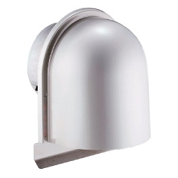 Louver With U-Type Hood For Automatic Ventilation Opening