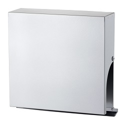 Louver With Slim Square Hood For Automatic Ventilation Opening
