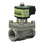 WS-25 Type Solenoid Valve (for Liquid and Gas) Stainless Steel Momotaro II