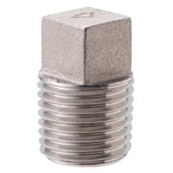 Stainless Steel Screw-in Pipe Fitting, Plug