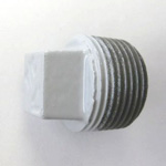 Resin Coated Pipe Fitting - Coated Fitting Plug