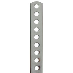 Stainless Steel Curved Plate (7MM Hole)