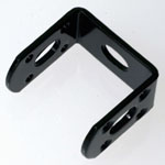 Reinforcing Metal Fittings, Black, C-Shaped