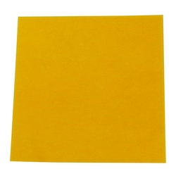 Amber Colored Rubber Sheet