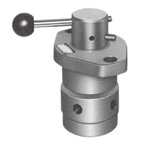 Rotary shape shut-off valve
