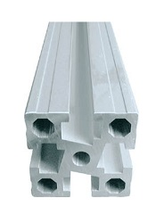Aluminum Extrusion (M6 / for Medium Loads) 30 × 30