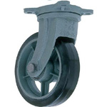 Swivel Rubber Wheels for Heavy Loads (HB-g Model) FCD Ductile Fitting