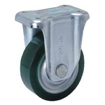 Fixed Axle (RKH Type) with Urethane Rubber Wheels for Heavy Loads