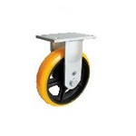 High Hardness Urethane Caster for Heavy Loads, Fixed (SDUK Type)