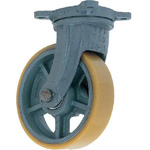 Free Wheels with Heavy-Duty Urethane Foam Wheels (UHB-g Type) - FCD Ductile Fitting