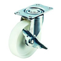 E-S Type Freely Swiveling Wheel Plate Type (with Stopper)