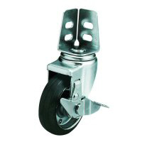 SA-S Model Swivel Wheel Angled Type (With Stopper)