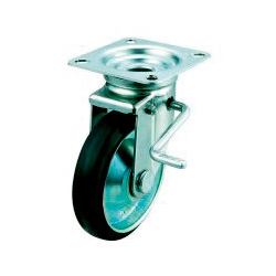 JB Model Swivel Wheel Plate Type (With Double Stopper)