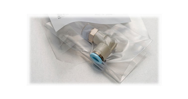 A clean room packaging specification suitable for piping in a clean environment is available (optional)