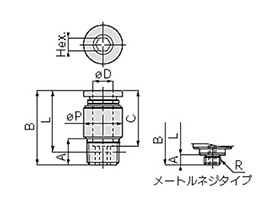 Tube Fitting For General Piping Inner Hex Straight: related image