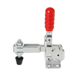 Toggle Clamps-Vertical Handle/Flange Base/Arm 100°/Handle 56°