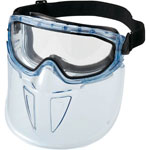 Goggles with Visor, Sealed Type